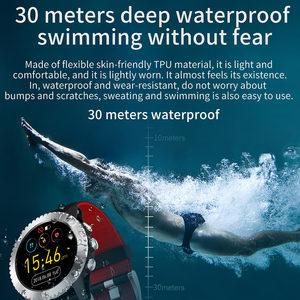 Image 5 - Impermeabile 3ATM di Nuoto di sport della vigilanza di Bluetooth Inseguitore di Fitness Aria Pressione della Frequenza Cardiaca di Musica Intelligente Della Vigilanza Degli Uomini di RUGUM Z1