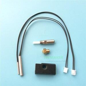 Image 2 - Запасные части для 3D принтера Wanhao, Дубликатор 6, комплект hotend D6 MK11, картридж нагревателя, комплект термопара PT100