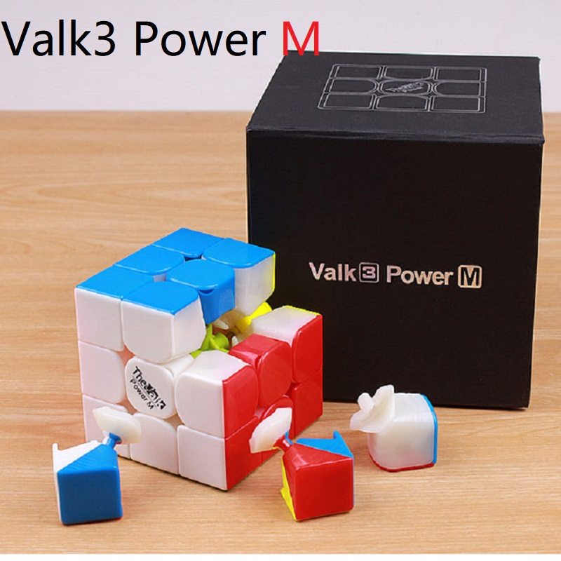 Valk 3 Valk3 Power M Mini Size Cube 3x3 Speed Magnetic Cube Mofangge Qiyi Competition Cubes Toy WCA Puzzle Magentic Magic Cubes