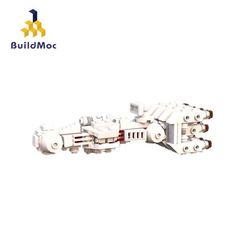 BuildMoc Mini 05046 Star Series Toys The 10019 Tantive Model IV Funny Blockade Runner Set Educational Building Blocks Bricks Kid