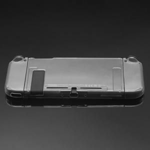 Image 2 - Funda protectora con carcasa suave de TPU de marco para Nintendo Switch, transparente, antigolpes