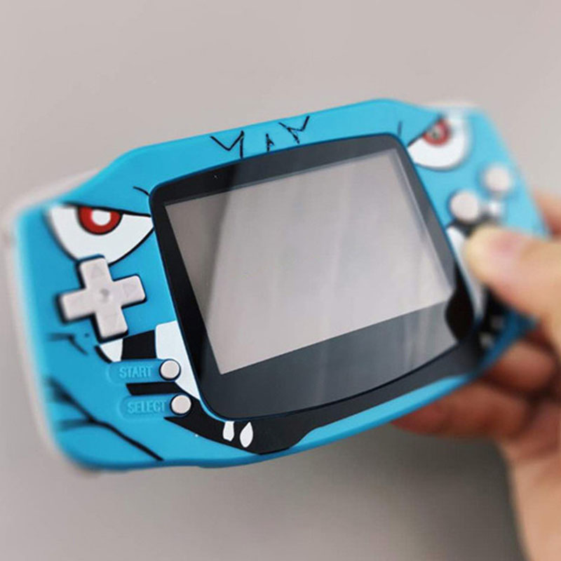 IPS Backlight LCD Screen Mirror For Nintend GBA Console With Logo
