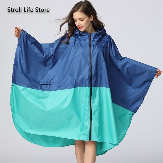 Adult Raincoat Women Long Rain Poncho Lightweight Plus Size Rain Coat Waterproof Windbreaker Jacket Gabardina Mujer Gift Ideas
