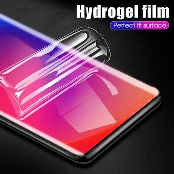 Перейти на Алиэкспресс и купить 10D полное покрытие Гидрогелевая пленка для Vivo Y17 Y19 Y11 2019 Защита экрана для Vivo IQOO 3 5G Pro Neo S6 Z6 Nex 3 2 пленка не стекло