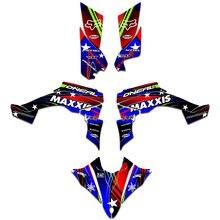 ATV Graphic Decal Sticker Kit For Yamaha YFZ450R YFZ 450R 2014 2015 2016 2017 2018 2019 2020