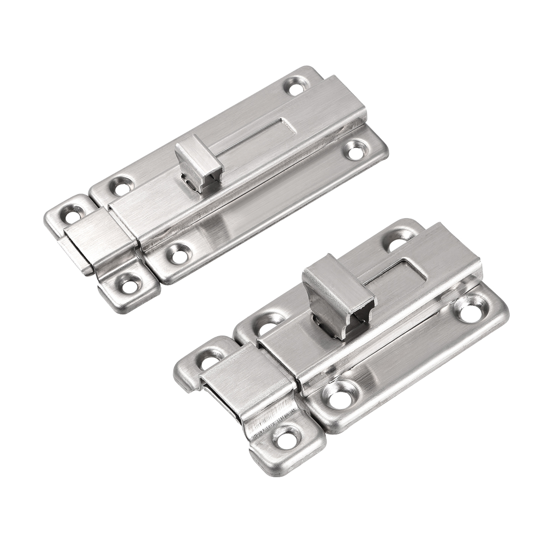 Silver Tone Door Lock Latch Slide Barrel Bolt Clasp Boat 316 Stainless Steel
