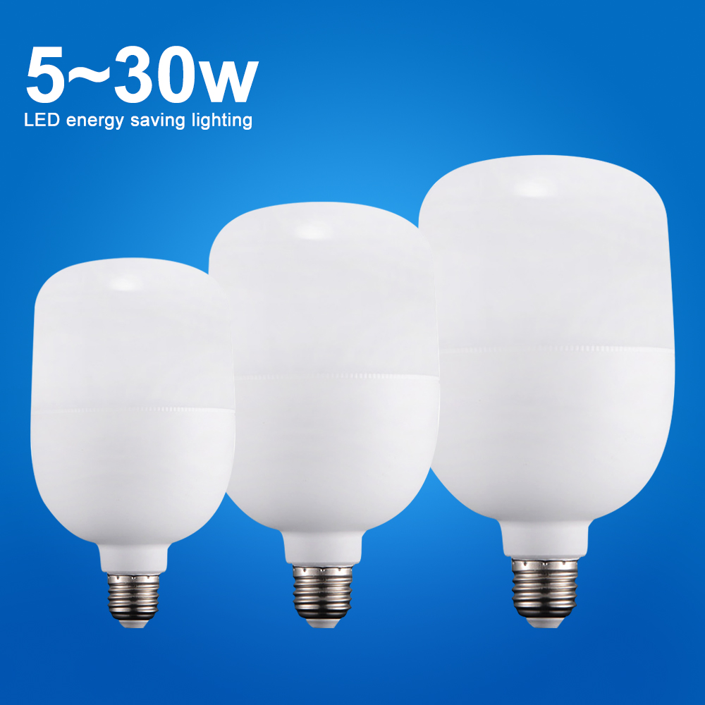 <font><b>LED</b></font> Bulb E27 <font><b>220V</b></font> <font><b>Led</b></font> Lamp <font><b>15W</b></font> 20W 30W 50W High Power Ampoule Bombillas <font><b>Led</b></font> Lights for Home Lighting Table Lamps Cold White image