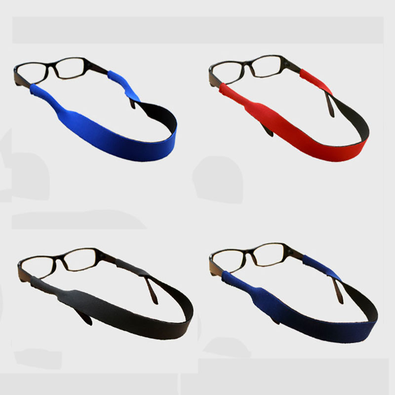 Outdoor Spectacle Glasses Stretchy Sports Band Strap Belt Adjustable Antiskid Belt Fixed Glasses For Outdoor Sports Running