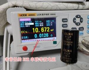 Image 3 - 2PCS NEW ELNA ALP 12000UF/56V 30X55MM 56V12000UF Gold filter electrolytic capacitor 56V 12000UF 85 degrees 12000UF56V