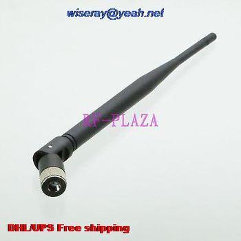 DHL/EMS 100 pcs 433MHZ Antenna 433MHZ GPRS GSM RPSMA male jack straight Tilt-Swivel for radio 20CM-A1