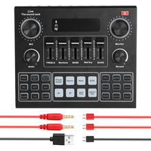 Microphone-Headset Sound-Adapter Audio-Interface Live-Broadcast Bluetooth Dual-Channel