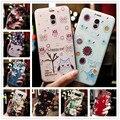 Für Meizu Hinweis 9 Fall 3D Blume Relief Silikon Telefon Fällen Für Meizu M9 Hinweis Hinweis 8 M8 Hinweis m6t m2 hinweis Abdeckung note9 note8 Coque