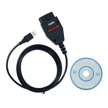 For VAG K+CAN 1.4 Full Version Commander PIC18F25K80+FTDI FT232RL Chip OBD Car Diagnostic For AUDI/V W/Skoda/Seat vag k can commander 1 4 obd2 диагностический инструмент сканер com кабель для audi skoda