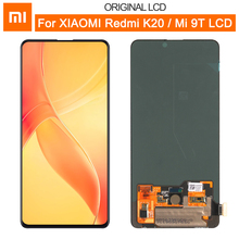 Original For 6.39 Xiaomi 9T MI9T MI 9T MI 9T Pro AMOLED LCD Display Screen + Touch Panel Digitizer For Redmi K20 Redmi K20 Pro 10piece lot for xiaomi redmi k20 k20 pro case flip leather cases for xiaomi mi 9t mi 9t pro stand case pu leather cover