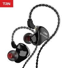 Trn IM1 Pro 1BA 1DD Hybrid In Ear Oortelefoon Running Sport Hifi Headset Afneembare Detach Oortelefoon Trn V90 V80 IM2 v20 BT20 BA5 T3
