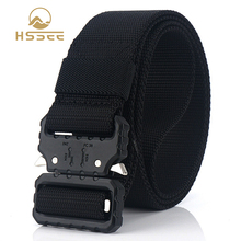 Tactical-Belt Buckle Sports-Accessories Tough Nylon Quick-Release HSSEE Soft Non-Fading