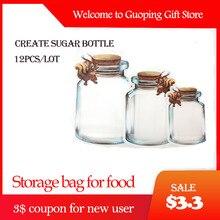 12 шт., мешок для сахара на молнии, многоразовая сумка для хранения закусок, Герметичная сумка для хранения еды, для дома, для путешествий, для детей