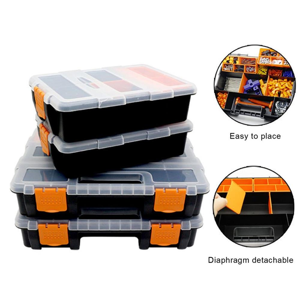 Toolbox Household Maintenance Electrician Tool Box Multifunctional Hardware Car Repair Anti-fall Box Accessories Large Storage
