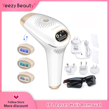 IPL الليزر Hair 3 IN 1 Depilador a Hair Removal Machine Epilator for women Permanent Photo Epilator Electric 500000 Flashes