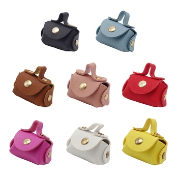 One Pcs Doll Bag Fashion Leather Shoulder Shopping Handbag Best Make Up Bag Dress Accessories Clothes for Doll фото