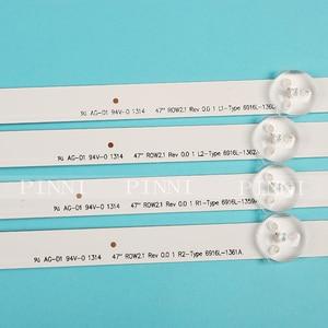 """Image 3 - 12 ชิ้น/เซ็ตใหม่ 47 """"LG 47LN5400 CN LED Strip 6916L 1174A 6916L 1175A 6916L 1176A 6916L 1177A,(3 * R1,3 * R2,3 * L1,3 * L2)"""