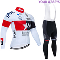 Зима 2020, белая футболка для велоспорта I AM, велосипедные штаны, набор, мужская одежда Ropa Ciclismo, Термоодежда из флиса для велоспорта, одежда для ...