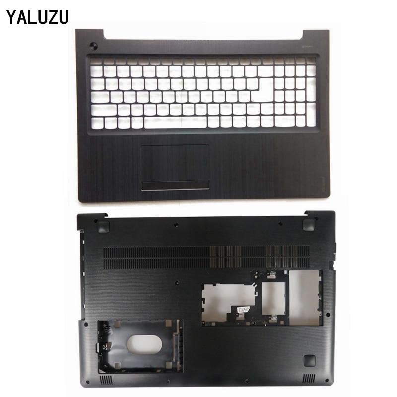 YALUZU Nouveau Pour lenovo ideapad 510-15 510-15ISK 510-15IKB 310-15 310-15ISK 310-15ABR Inférieur housse de bas de portable Couverture AP10T000C00