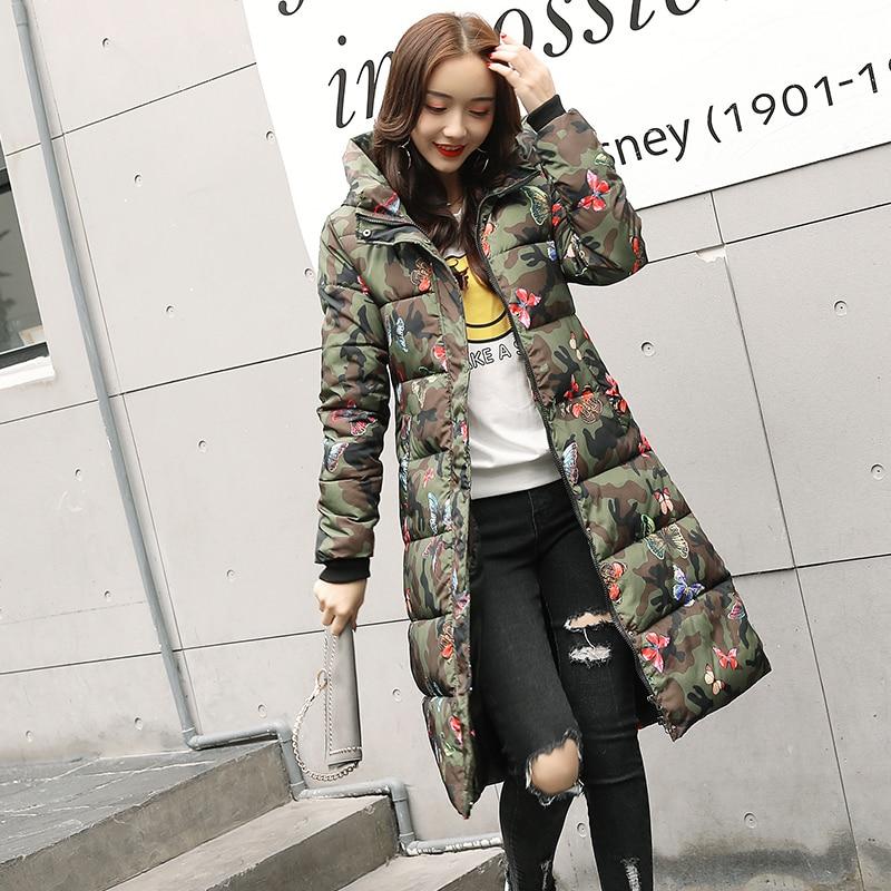 Высокое качество, Новое поступление 2019, зимняя куртка для женщин, с капюшоном, с хлопковой подкладкой, длинное, теплое, утолщенное, Женское пальто, парка, верхняя одежда