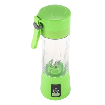 цена на Portable USB Rechargeable Blender Mixer 6 Blades Juicer Handheld Smoothie Mini Juice Cup Electric Fruit Juicer Machine