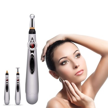 Electronic Meridian Acupuncture Energy Pen Laser Therapy Treatment Acupuncture Massage Pencil Pain Relief Electro Stimulation big copper moxa roller stick moxibustion body warm abdomen massage burner meridian acupuncture artemisia stimulation therapy