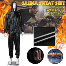 Sauna Suit Women Sweat Fitness-Weight-Loss Exercise Gym Heavy-Duty Full-Body