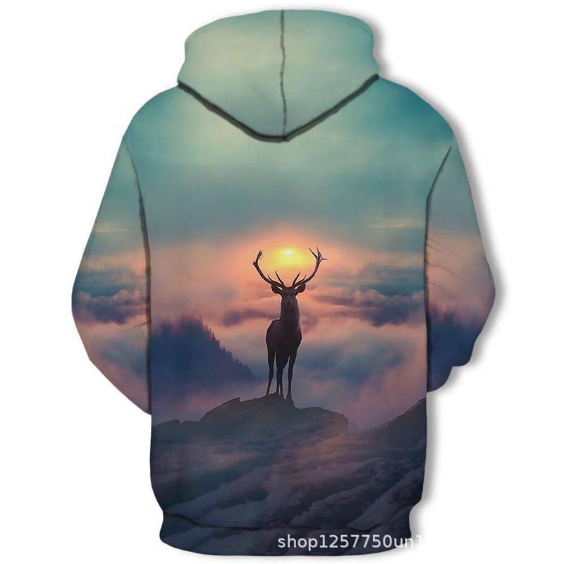 H0b08f3c456a2493c9e7eef887451832b0 2019 Magic color Galaxy Wolf Hoodie Hoodies Men Women Fashion Spring Autumn Pullovers Sweatshirts Sweat Homme 3D Tracksuit