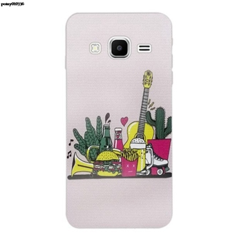 Lemon 3 Silicon Soft TPU Case Cover For Samsung Galaxy Core Grand Prime Neo Plus 2 G360 G530 I9060 G7106 Note 3 4 5 8 9 image