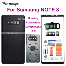 Get more info on the note8 Back Glass For Samsung Galaxy Note 8 N9500 N950F Back Battery Cover Housing+Outer Camera Lens+Front Outer Glass Panel+Tool