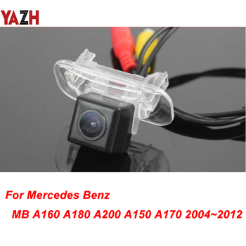 For Mercedes Benz MB A160 A180 A200 A150 A170 04-12 GPS Night Vision Back up Reverse Camera Rear view Camera Car Parking Camera image