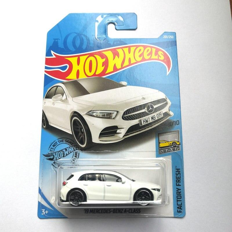 Hot Wheels Mercedes-benz Sports Car 19 Mercedes-benz A-class Alloy Car Toy 2019-201