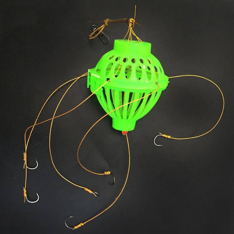 cesta alimentador titular fishhook anzol ferramenta enfrentar acessorios carpa 03
