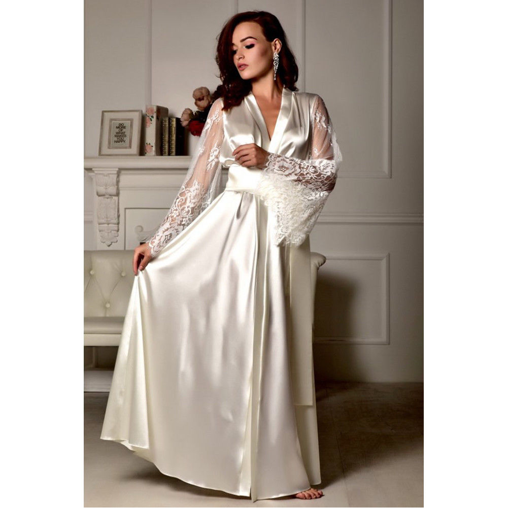 Goocheer New Women Sexy Lingerie Sleepwear Babydoll Lace Underwear Satin Silk Kimono Robe Dressing Gown Night Dress Bathrobe