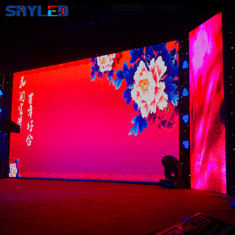 Indoor Stage P3.91 And P4.81 Led Display Screen LED Panels 500mm X 1000mm  For Event