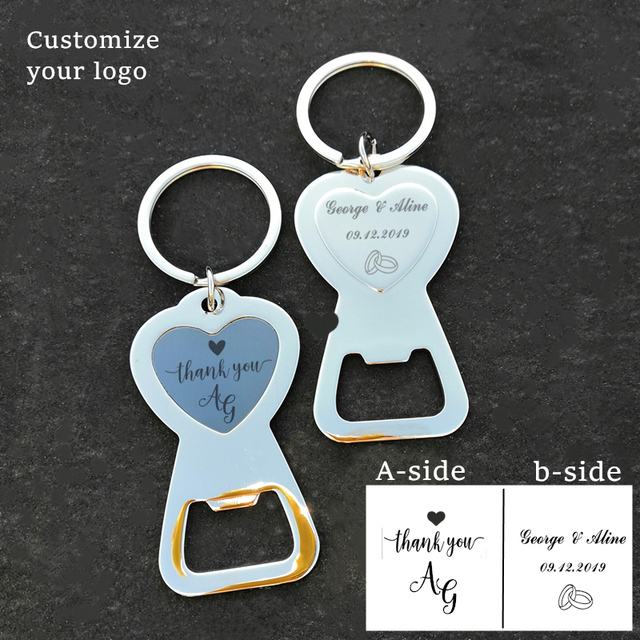 Party Favors 24 pcs Wedding Favors Birthday Girl Personalized Credit Card Shaped Bottle Opener MAE23P