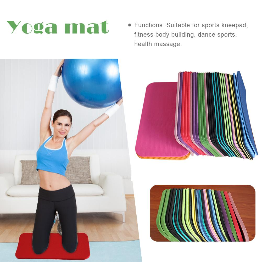 Yoga Knee Pad Non-slip Moisture-resistant Yoga Mat For Plank Pilates Exercise Perfect Size And Slip Resistant Travel Friendly