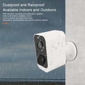 Cámara de seguridad exterior/interior sin cables, batería recargable, cámara IP inalámbrica 1080P, Wifi, sistema de vigilancia PIR para el hogar