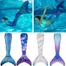 Mermaid Tails For Swimming Adult Kids Cosplay Costume Mermai