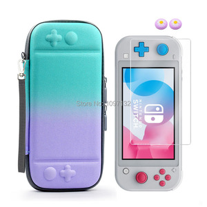 Image 2 - Portable Hard Shell Bag Case for Nintend Switch Lite Temeperd Glass Screen Protector for Nintendo Switch Lite Accessories