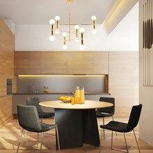 Decoration Hanging Lamp Nordic Creative Concise Individuality Art Iron Pendant Light Cafe Restaurant Free Shipping