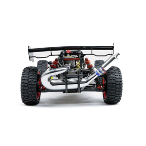 Image 5 - Silenciador para carros rc, silenciador de tubo de escape para corrida de 1/5 escala hpi baixa rovan 5b 5t 5sc losi tdbx fs caminhão de brinquedo com controle remoto