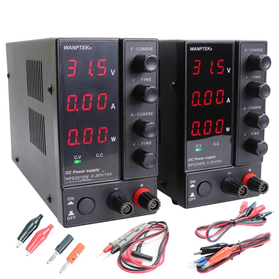 NPS306W/605W/3010W/1203W regulated laboratory DC switching power supply 30V/60V/120V 3A/5A/6A/10A/adjustable 0.1V/0.01A/0.01W-0