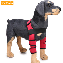 Petshy Pet Knee Pads Protector Dog Knee Support Brace for Leg Hock Knee Joint Wrap Pet Bandage Dog Medical Supplies Kneepads