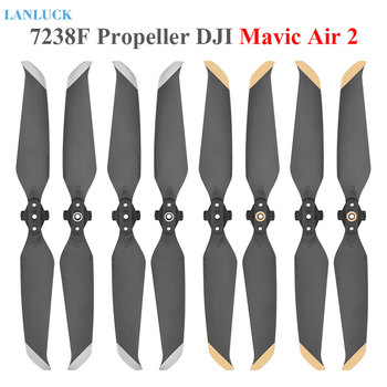 Low-Noise Props Propellers For DJI Mavic Air 2 Blade 7238 Foldable Quick Release Props Blade Propeller for mavic air2 Accessory набор пропеллеров dji p4p 9455s low noise quick release propellers для dji phantom 4 pro v2 0 djip4p9455s part137