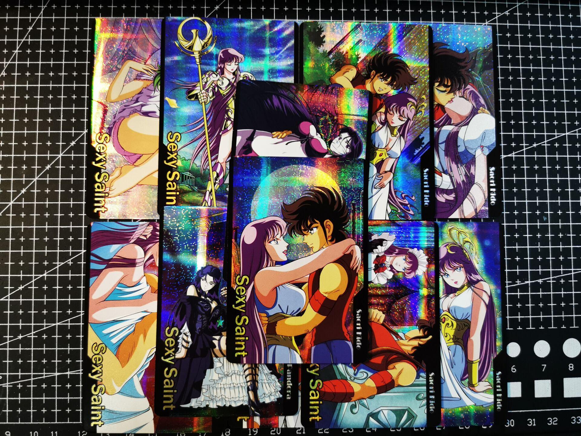 12pcs/set Saint Seiya Fun 2nd Toys Hobbies Hobby Collectibles Game Collection Anime Cards
